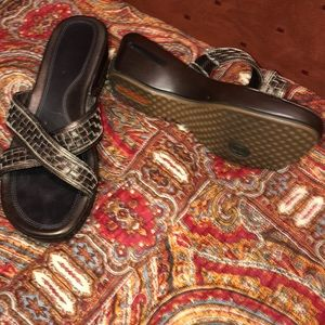 Cole haan Nike air Sandals Shoes 8 9 walking